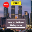 How to Address Malaysians